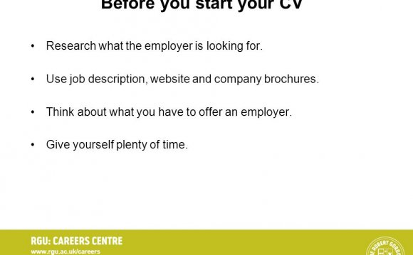 Use job description, website