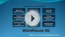 3G Warehouse Management with McLane Logistics Technology