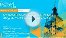 Advanced Business Intelligence Solutions Using Microsoft