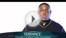 Certified Chrysler Sales Consultant-Terrance Weeden
