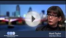 Marit Taylor, MSB Risk Officer talks about working in AML