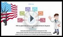 Process for H1B visa for physiotherapy jobs in USA for Indians