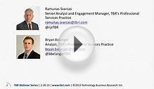 TBR Management Consulting Benchmark Review and Outlook